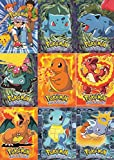 #5: POKEMON THE FIRST MOVIE 1998 TOPPS COMPLETE BLACK LOGO BASE CARD SET OF 72