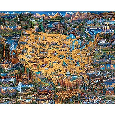 Dowdle Jigsaw Puzzle - National Parks - 500 Piece: Toys & Games