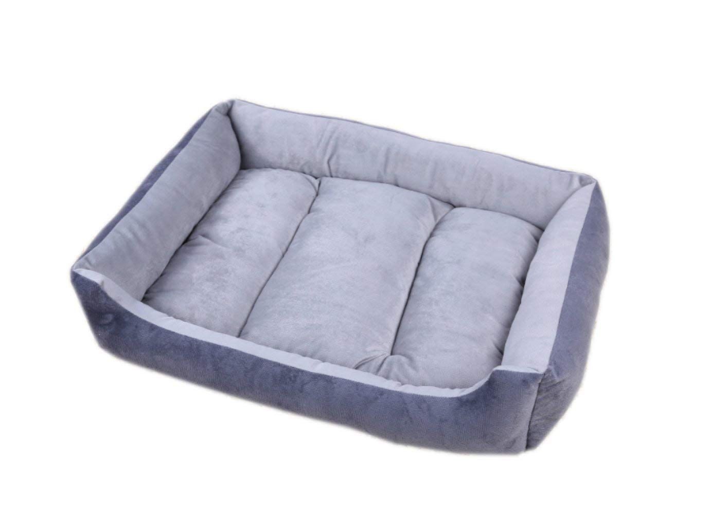 Pet Bed The Four Seasons Available Kennel Cat Litter The Washable Solid color Pet Mat,Multi-colord-70  55  12cm