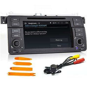 Android 5.1 coche rápido reproductor GPS estéreo para BMW E46 M3 MG ZT Rover 75 GPS Canbus WiFi GPS Radio ...