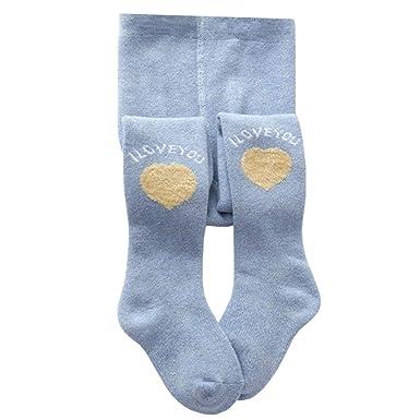 LSERVER Calcetines Leggings Gruesos de Algodón para Bebé Niñas Medias de Terry Infantiales: Amazon.es: Ropa y accesorios