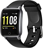 Letsfit Smart Watch, Fitness Trackers with Heart Rate Monitor, Activity Tracker