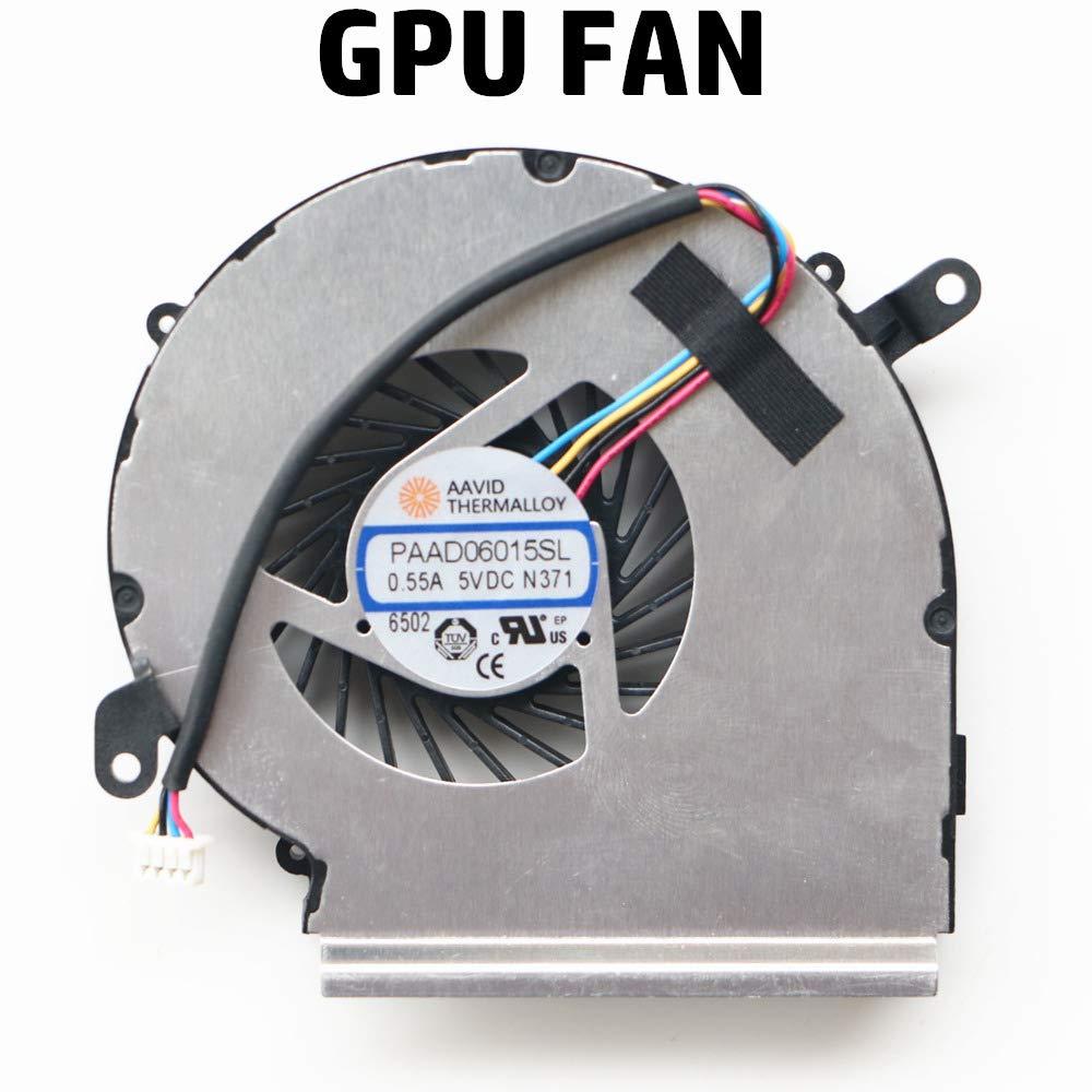 Ventilador GPU MSI GE62VR GL62VR GP62VR GL62M MS-16JB MS-16J8 MS