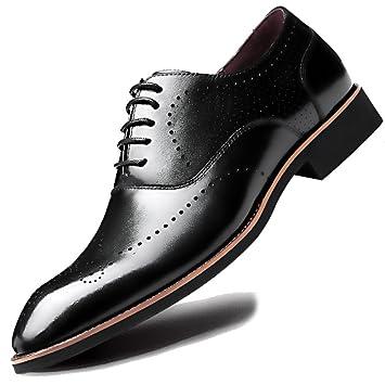 Mens Carve Lace Ups Oxford Gentleman Real Brogues De Cuero ...
