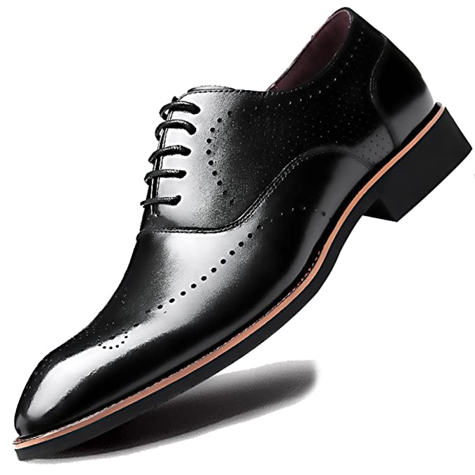 sports shoes bf7d0 1e435 Scarpe Classiche Da Uomo In Vera Pelle Di Derby Con Frange E ...