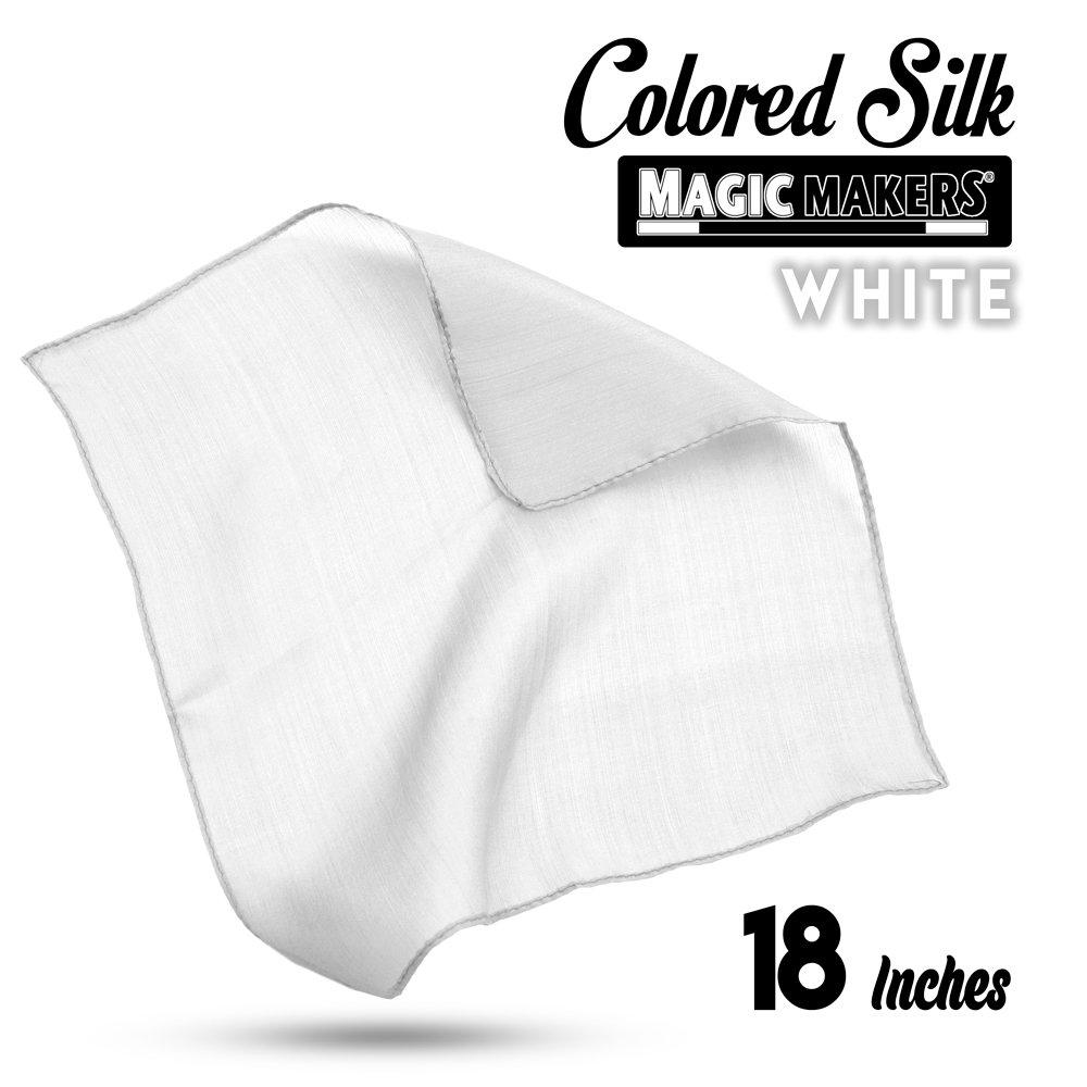 White Magic Makers Professional Grade 18 Inch Magicians Silk