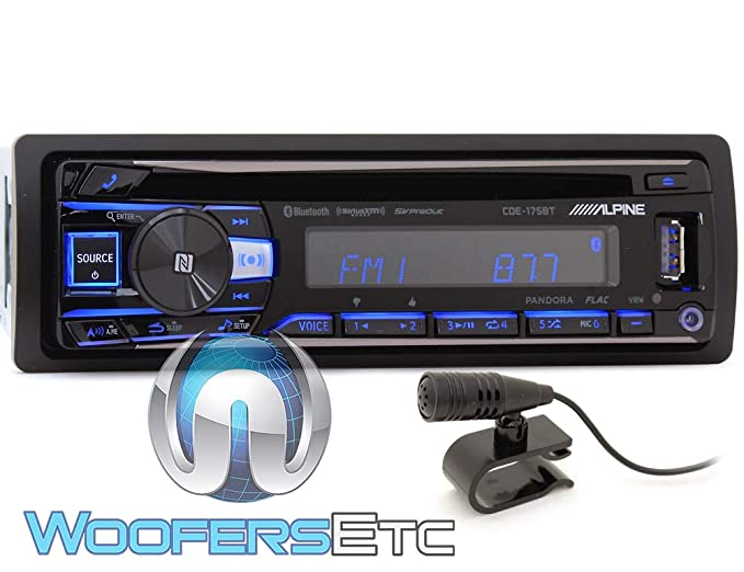 Alpine cde-173bt update firmware przez usb youtube.