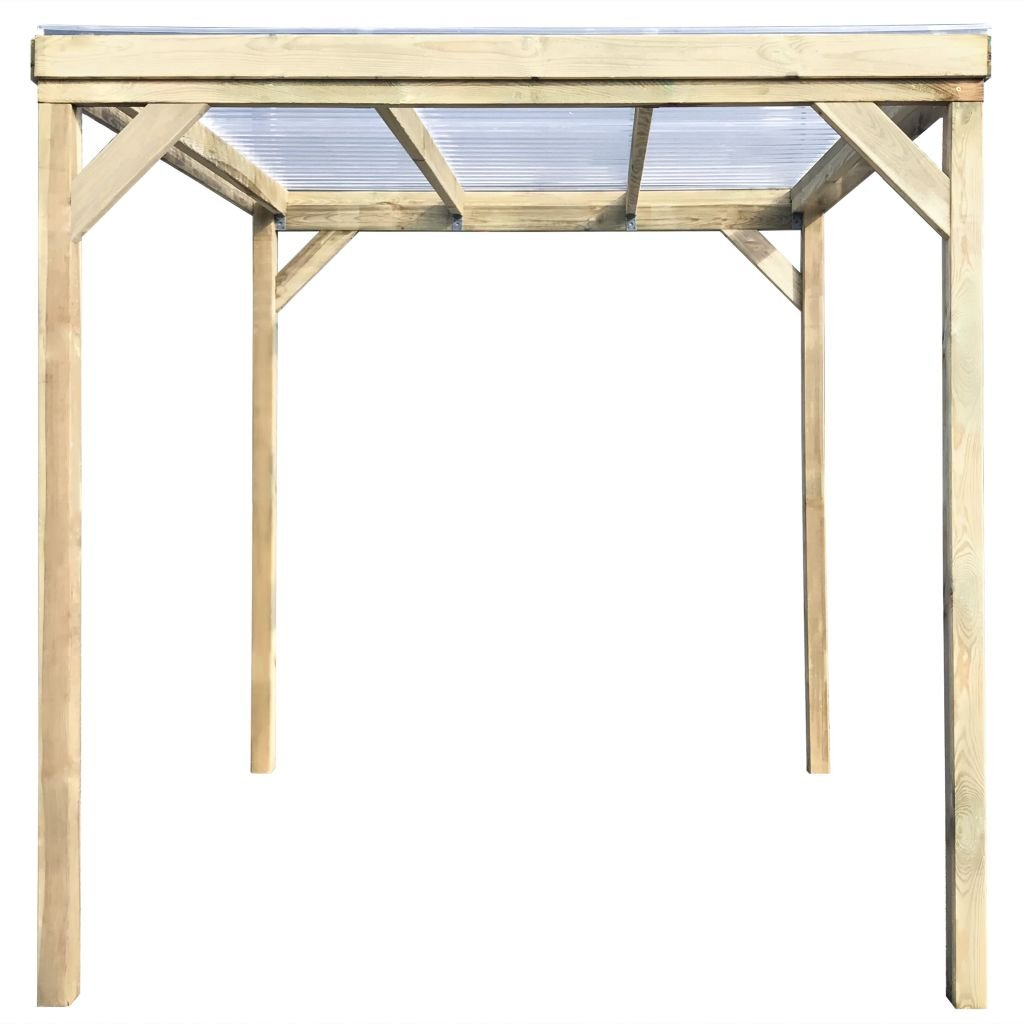 Festnight - Cobertizo de madera para jardín con techo de leña para almacenamiento de herramientas (2 x 2 m): Amazon.es: Hogar