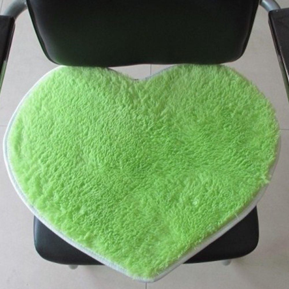 peloso confortevole assorbe acqua 40/x 30/cm 40cm by 30cm a forma di cuore super soffice tappetino antiscivolo Morbido tappetino da bagno tappetino da bagno lavabile Red