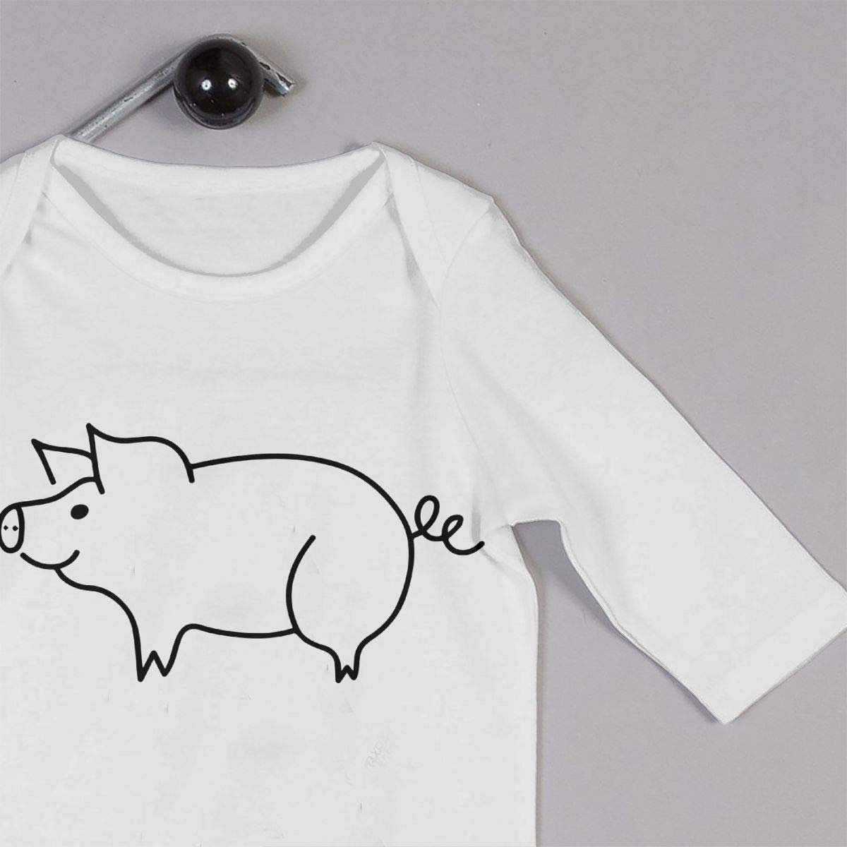 Pig Newborn Kids Long Sleeve Bodysuit Bodysuits