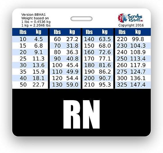 ICU RN Horizontal Badge Buddies Critical Care Nurse Card ID Buddy Details about  /5 Pack