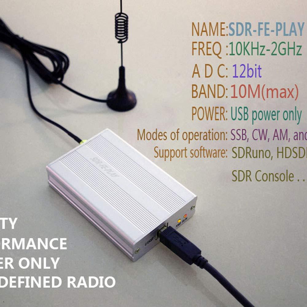 SODIAL 10Khz-2Ghz 12Bit Sdr Receiver Sdrplay Rsp1 Rsp2 Rtl
