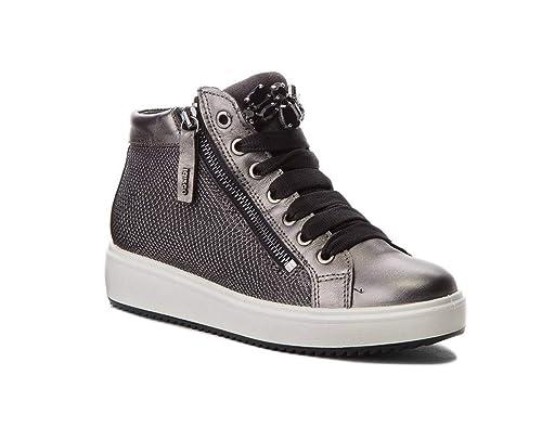 IGI CO 2154611 Sneakers Alto Stivaletto Donna Antracite  Amazon.it ... 5bb1e569843