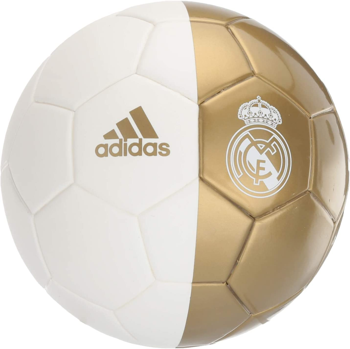 adidas Real Madrid Mini Soccer Ball, Black, 5: Amazon.es: Deportes ...