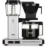 Moccamaster CD - KBG 741 Select - Matt Silver Kaffemaskin, Silver