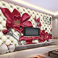 Sproud Mural 3D Tv Backpack Wall Paper Silk Cloth Magnolia Flower Sofa Murals 3D Eco-Friendly For Wallpaper Papel De Parede by sproud