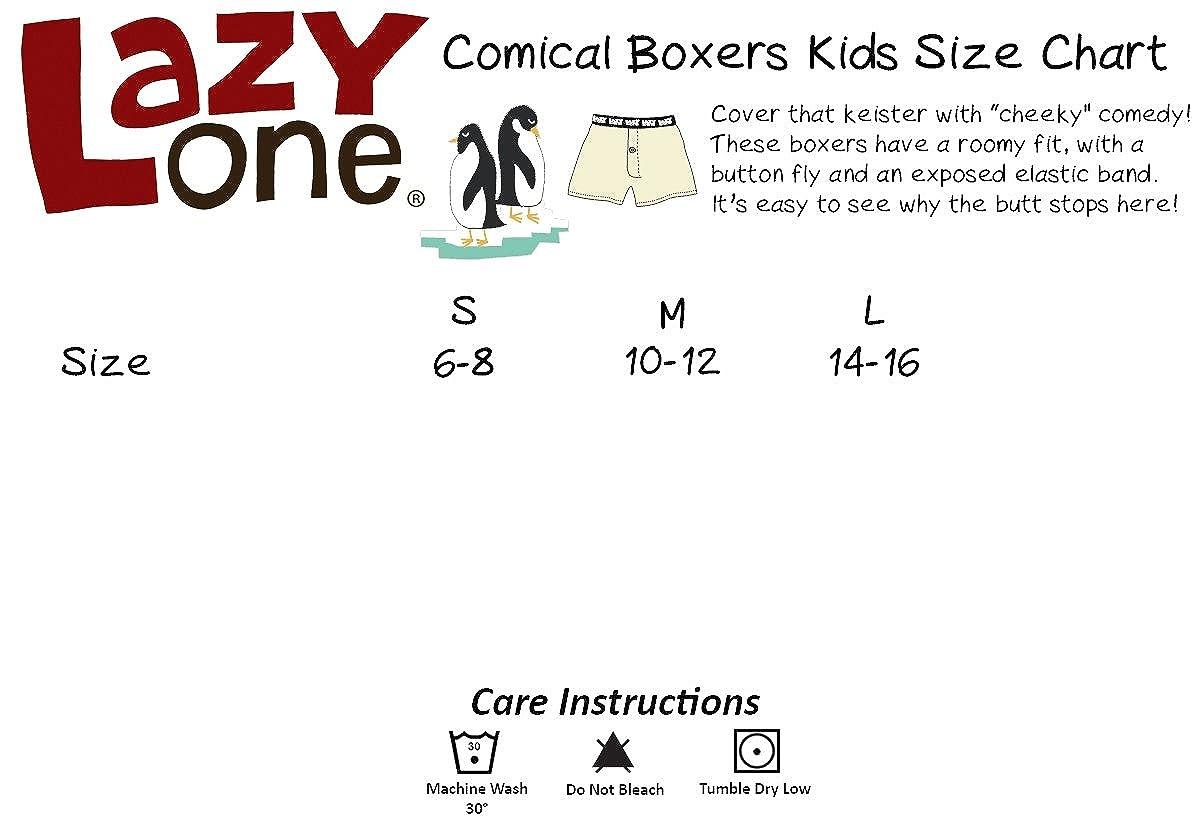 Lazy One Silent Butt Deadly Snake Boys Boxer Shorts Kids