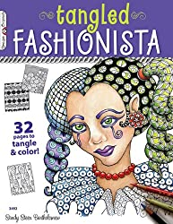 The Tangled Fashionista: 32 Pages to Tangle & Color (Design Originals)