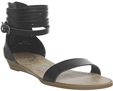45fd9b000c Blowfish Becha Black Womens Sandals Shoes: Amazon.co.uk: Shoes & Bags