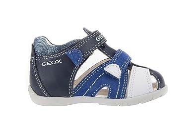8d3c761b4e7c GEOX Sandale Enfant B7250C-C4226 Bleu Marine  Amazon.fr  Chaussures et Sacs