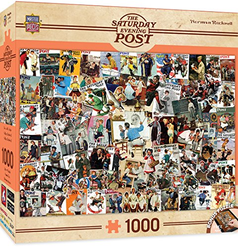MasterPieces Saturday Evening Rockwell 1000 Piece product image