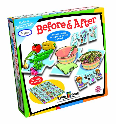 Small World Toys Ryan's Room Educational – Before and After Sequencing Game