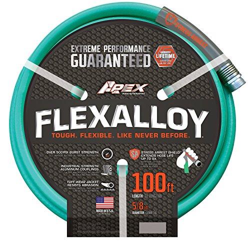 Apex, 8550-100' Flexalloy Water Hose, 5/8