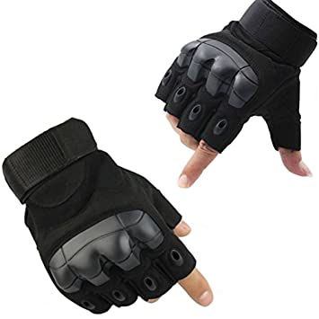 Fuyuanda Half Finger Outdoor Gloves Hard Knuckles Tactical Glove For Shooting Military Hunting