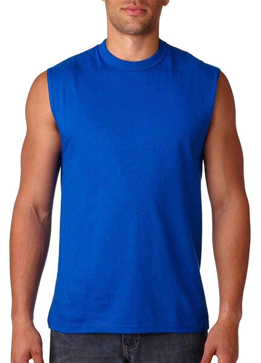 Jerzees 29SR Dri-Power Active Sleeveless 50/50 T-Shirt