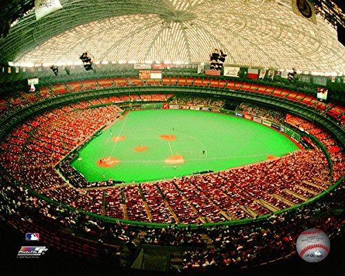 Astrodome Houston Astros MLB Stadium Photo (Size: 8