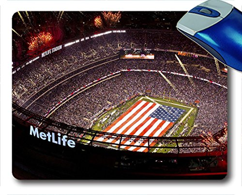 Mouse Pad Superbowl Metlife Stadium Gaming Mouse Pad And Hd Print Custom Mouse Pads 9 7 5 Inch