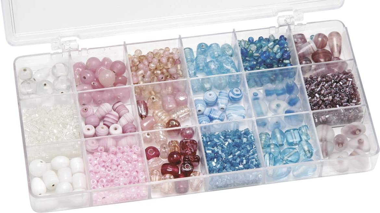 Gütermann / KnorrPrandell 6050091 - Caja con perlas de cristal ...