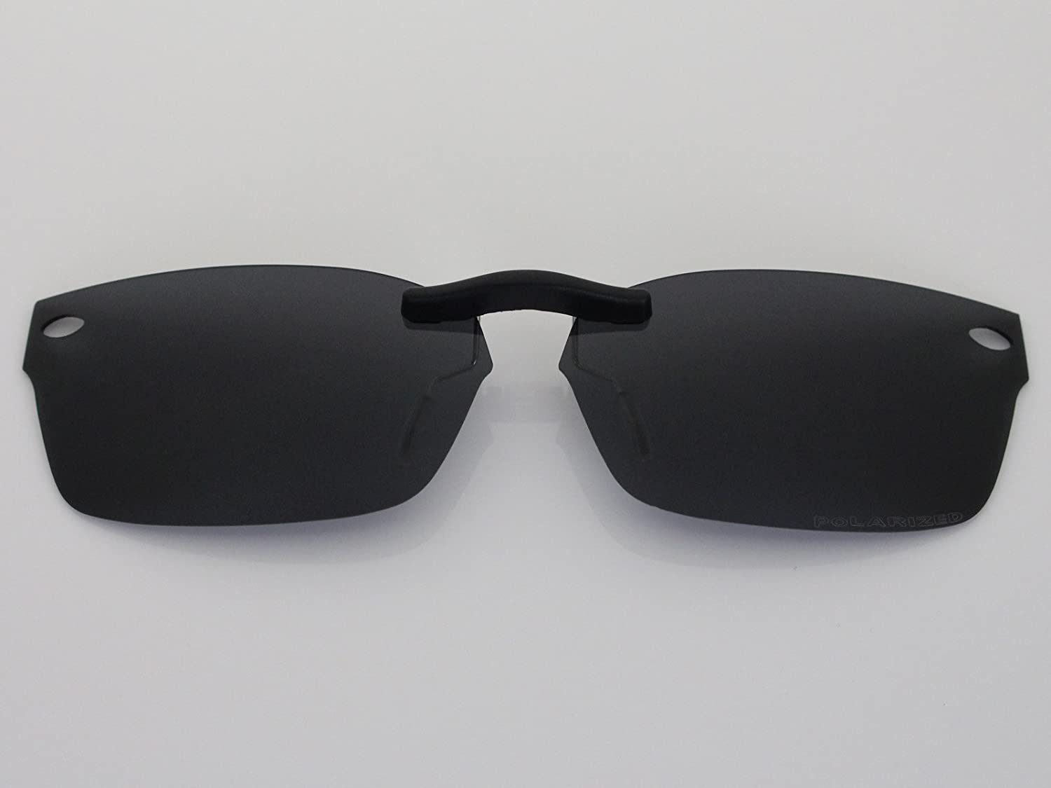 ef178981fa46 Custom Fit Polarized CLIP-ON Sunglasses For Ray-Ban RB5150 50X19 Black - -  Amazon.com