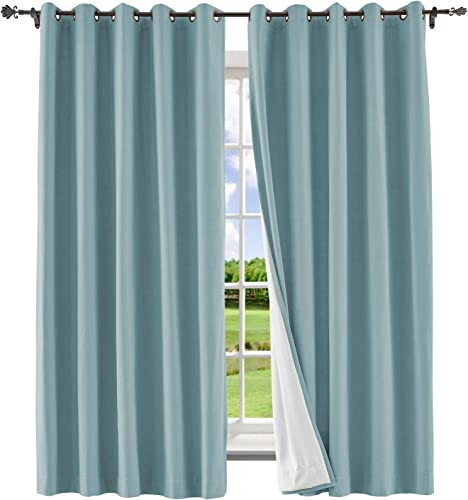Macochico Extra Wide Blackout Curtain