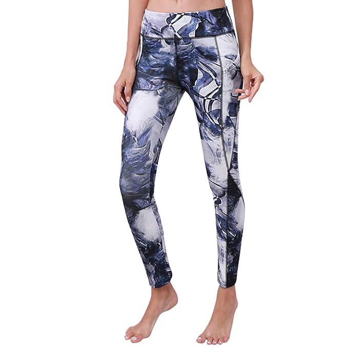 Yoga Pantalones Mujer Deportivas Trousers Boho Festival Hippy Leggins Polainas para Mujer EláSticos Pilates Fitness De La Vendimia del Estilo ...