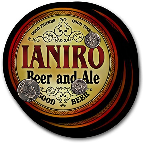 Ianiro Beer & Ale - 4 pack Drink Coasters for sale  Delivered anywhere in USA