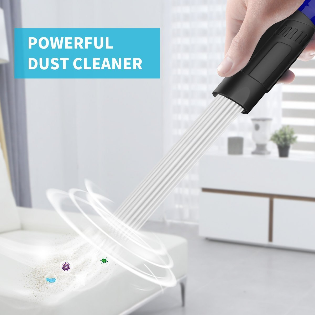 AIMEN dust cleaner Drawers,Air Vents Strong Suction Perfect for Corners Small Suction Brush Tubes Flexible Access to Anywhere Vacuum Cleaner Dust Dirt Pro Remover Universal Attachment Tool Pets
