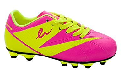 d25dc986 Amazon.com | Eletto Kid's LNA-090 TPR JR Soccer Shoes | Soccer