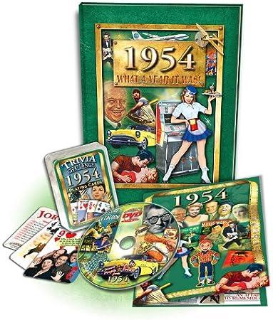 Amazon.com: 1954 flickback libro, DVD & Trivia Juego de ...