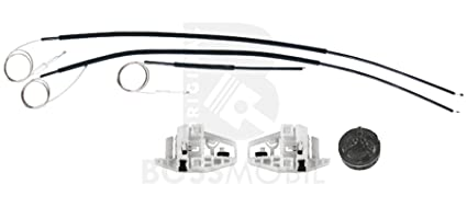 Grandtour Trasero izquierdo Bossmobil MEGANE 2 II LM0//1/_ kit de reparaci/ón de elevalunas el/éctricos KM0//1/_ BM0//1, CM0//1/_ Stufenheck