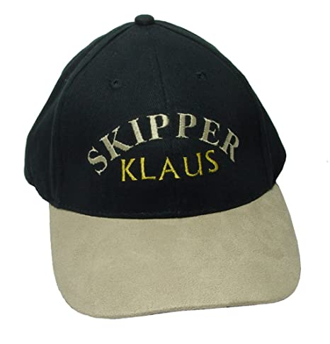 autentico consegna veloce rivenditore di vendita Nauticalia London Cappellino da capitano con nome ...