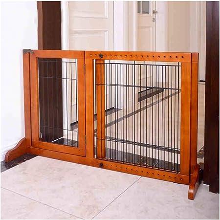 LITINGFC Bebé Puerta De La Escalera Barrera Decoración del Hogar Interior Ajustable Valla for Mascotas Vertical Corredor for Niños Valla De Protección, Ancho Ajustable: Amazon.es: Hogar