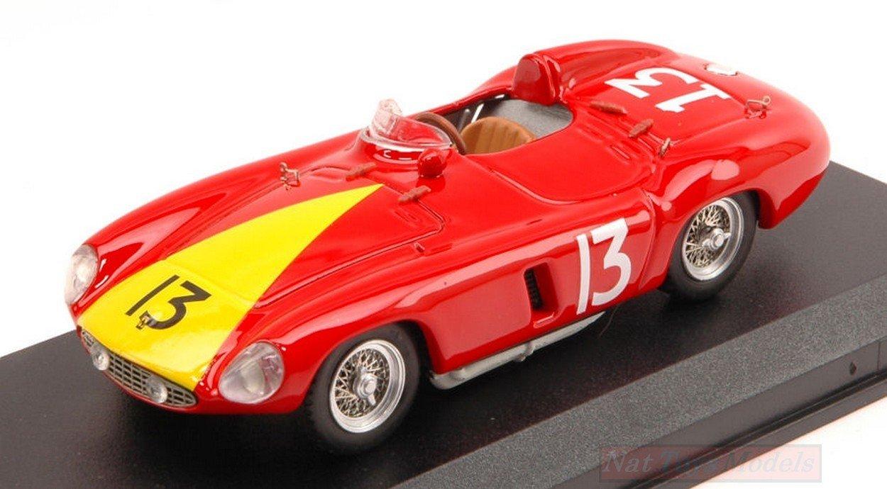 Art Model AM0230 Ferrari 735 Monza N.13 Win Nassau 1955 DE PORTAGO 1:43 Die Cast