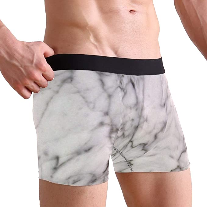 Toddy Astridd Blurry Marble Mens Sports Performance Shorts Underwear 2 Pack