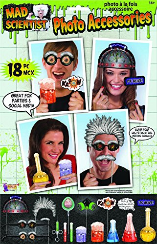 Forum Novelties 81055 Mad Scientist-Photo Props, One