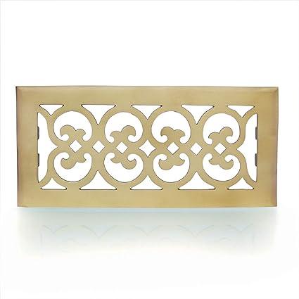 Antikas - Rejilla de ventilación para estufas de azulejos, rejilla de latón para chimenea,