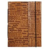 Best RusticTown Anniversary Gifts For Men - Leather Travel Notebook Journal For Men By Rustic Review