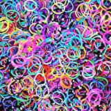 4400 Piece Loom Band Refill Kit - 22 Colors - Mega Refill Pack - 4400 Rainbow Colored Bands