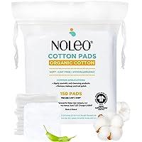 NOLEO Pure Organic Cotton Pads for Face, Size s/m, 0.26 kg