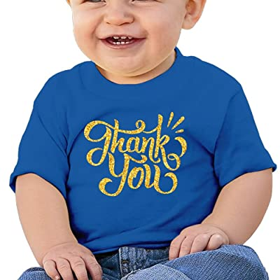 Golden Thank You Fashion Cotton Soft O Neck Short Sleeves T Shirt For 6